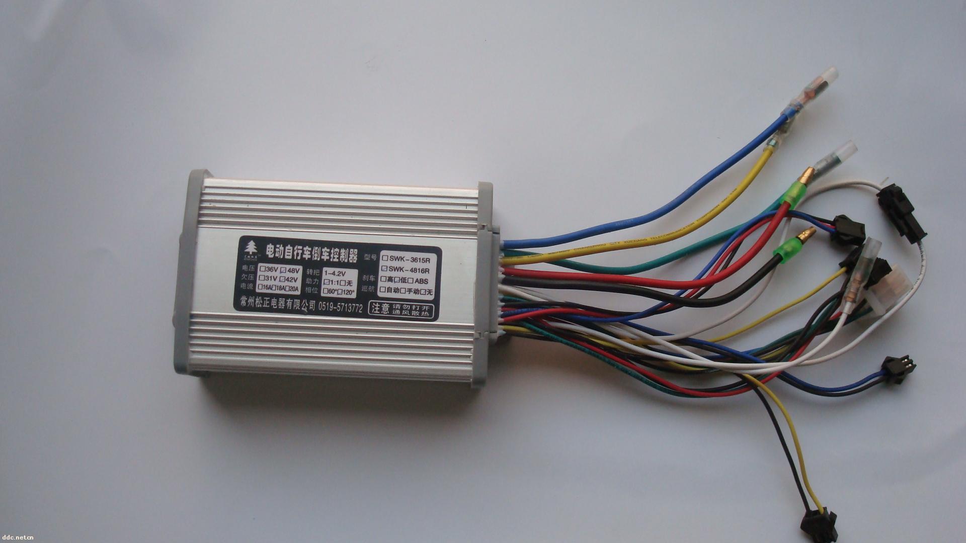 松正无刷控制器接线图